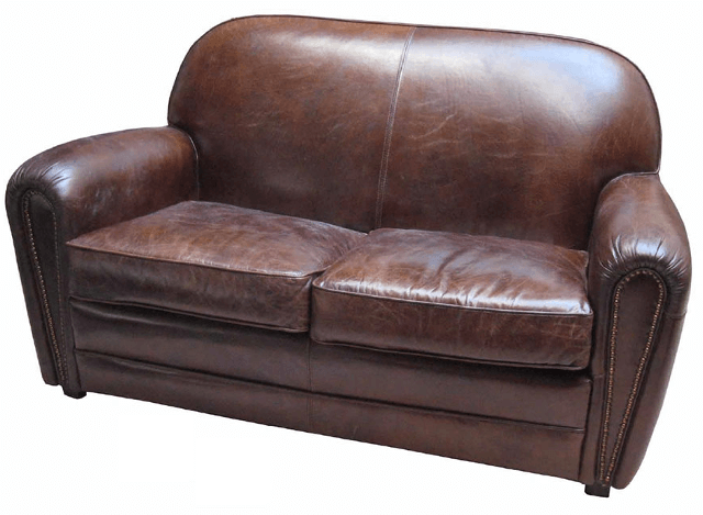 Chesterfield Clubsofa London Classic Leder Braun