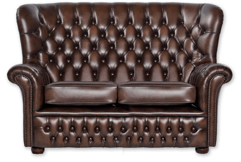 Chesterfield Couch Wales 2 Sitzer