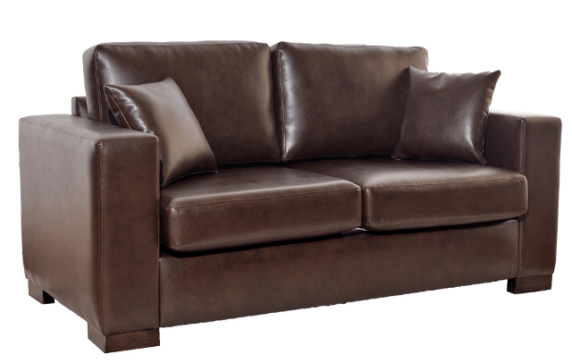 Chesterfield-Ledersofa Madrid 2-Sitzer 150cm