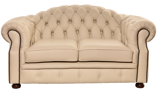 Chesterfield-Sofa 2-Sitzer Brighton