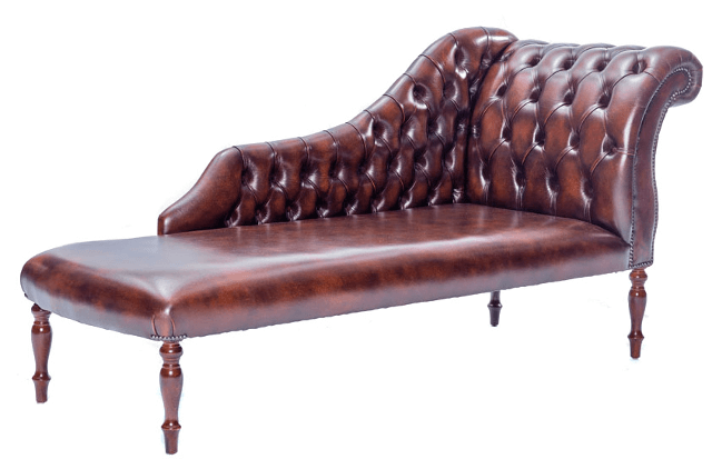 Chesterfield-Sofa Chaise-Longue