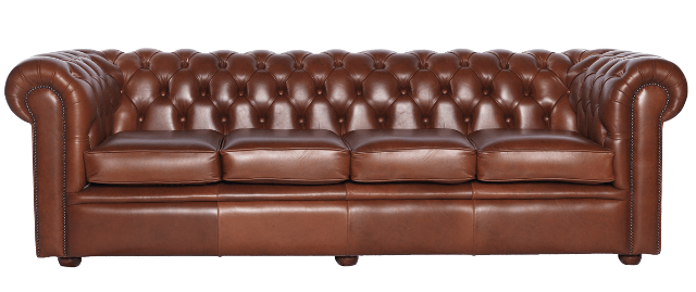 Chesterfield-Sofa London Classic 4-Sitzer