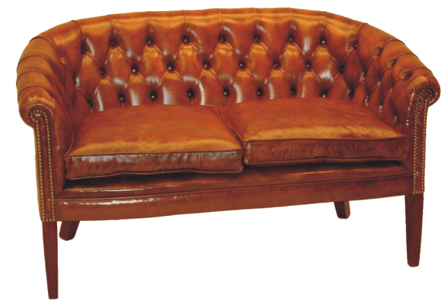 Chesterfield-Sofa Victorian Club 2-Sitzer