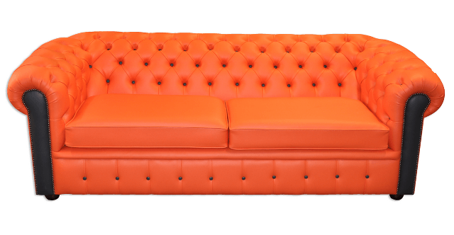 Chesterfield-Sofas London Harlekin 2-Sitzer