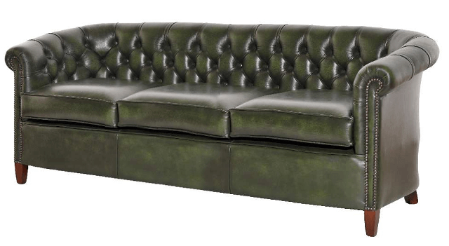 altenglisches Chesterfield Sofa Diana 3er