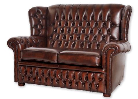 englische Chesterfield-Sofas Henry 2-Sitzer